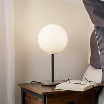 Menu TR Bulb bordlampe 41 cm marmor/opal