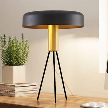 Lucande Filoreta lampa stołowa czarna