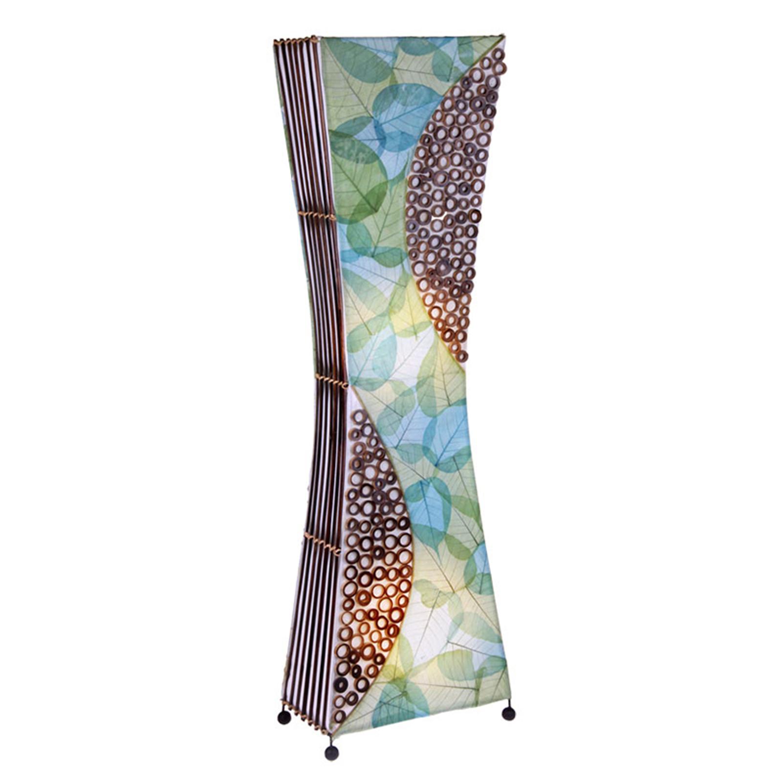 Vloerlamp Talia met natuurmateriaal, 100 cm