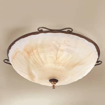 Designet i antik stil - loftlampen Armelle