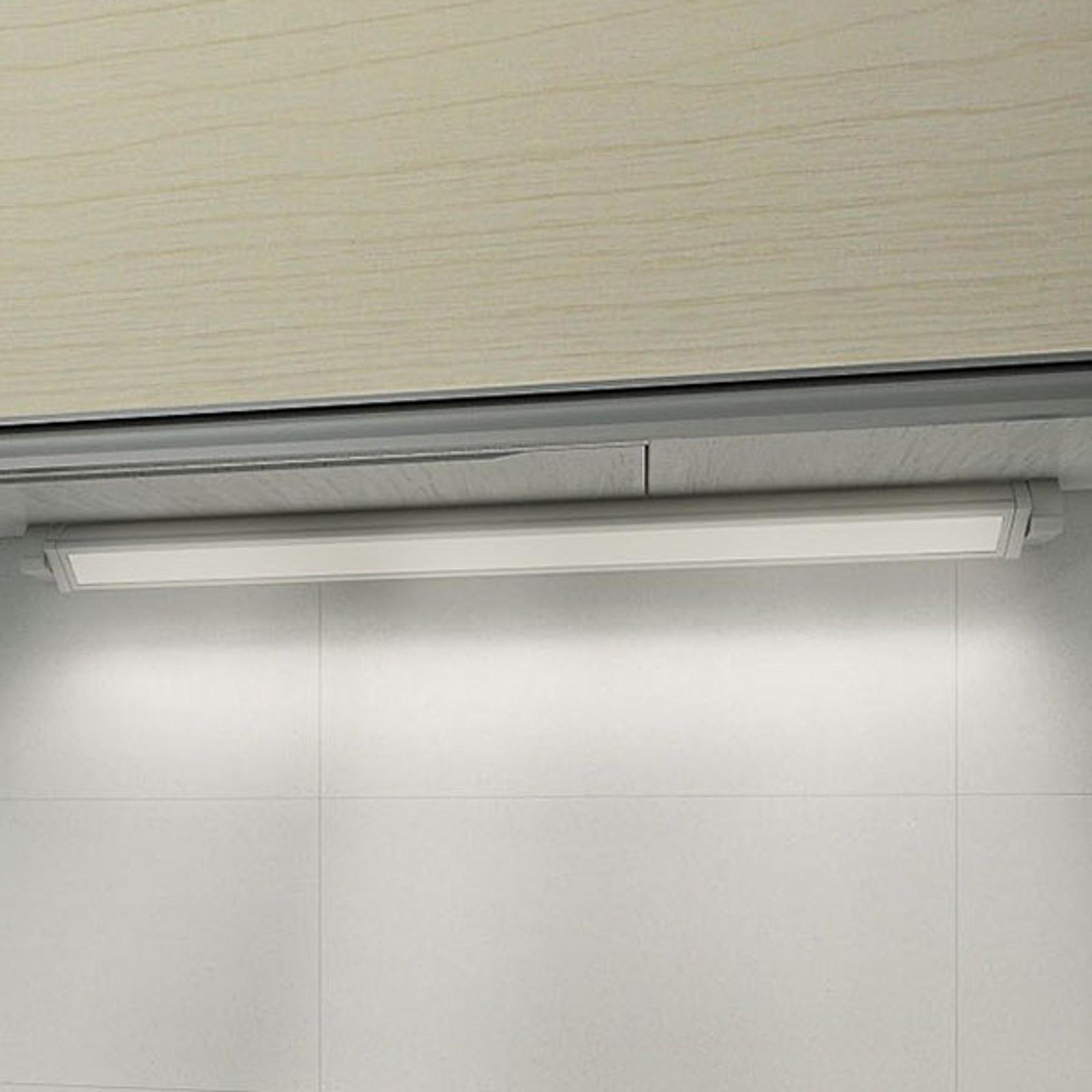 Utenpåliggende LED-møbellampe 957, lengde 34,8 cm