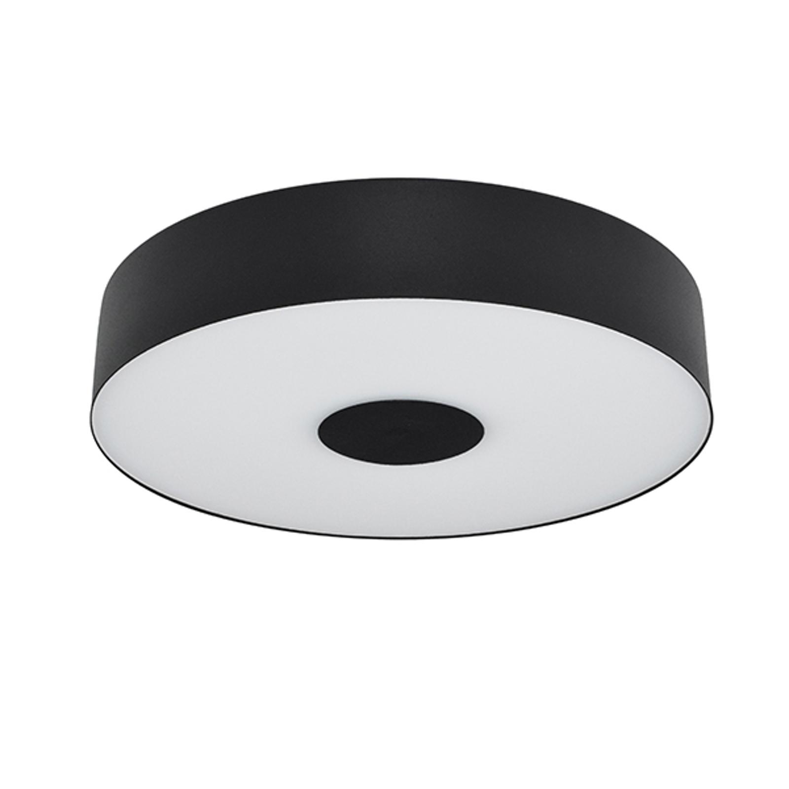 Plafonnier LED Cléopâtre en noir, Ø 40cm