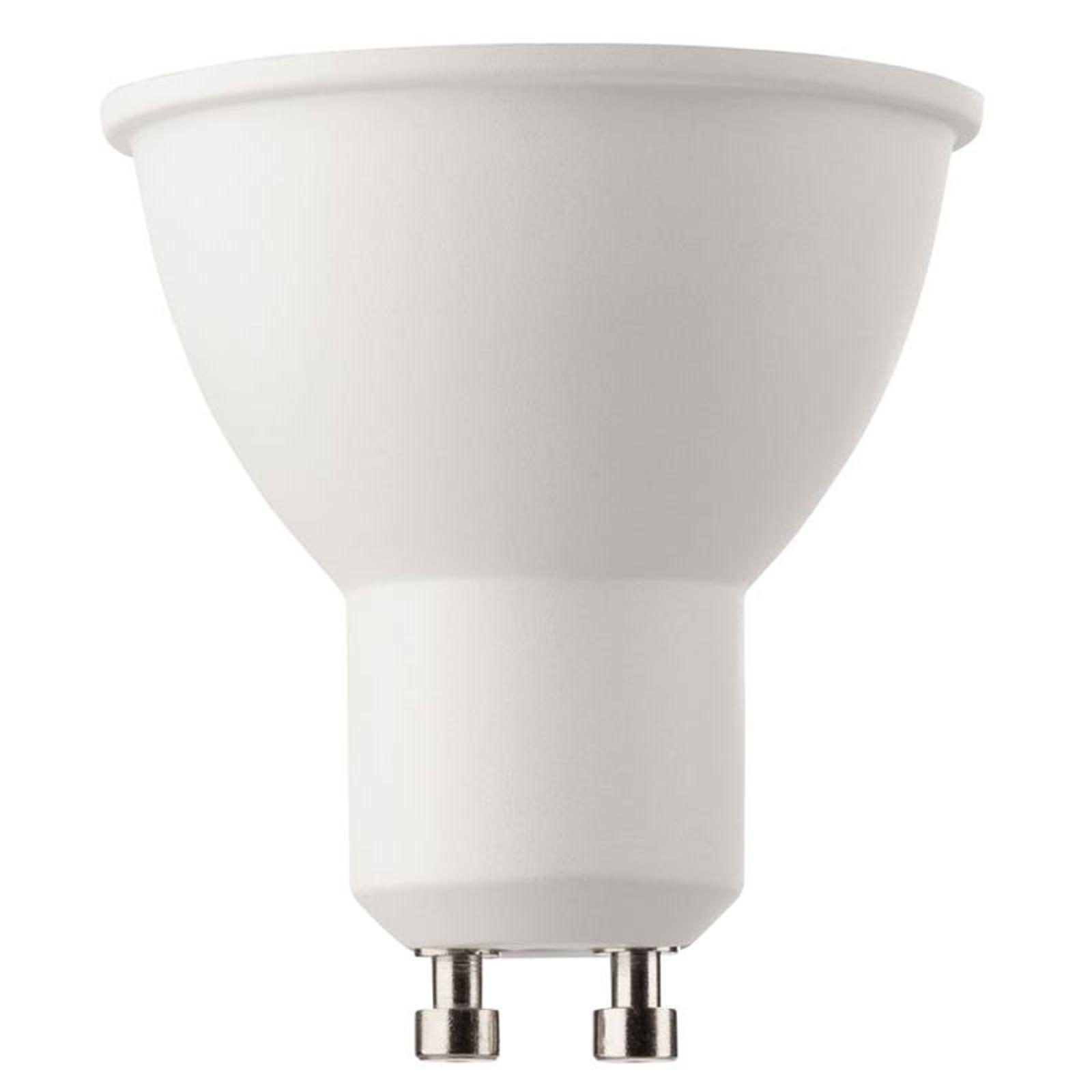 Riflettore LED GU10 6,5 W bianco caldo 380 Lumen
