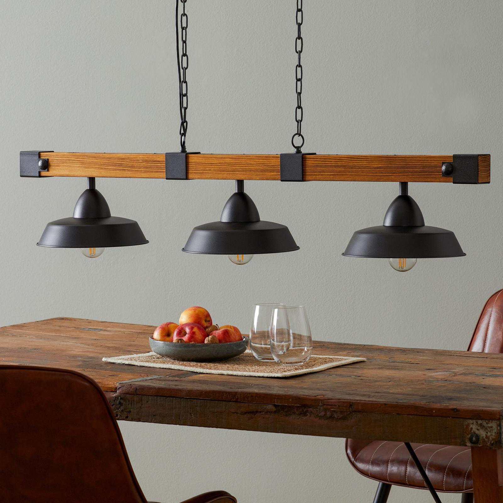 Hanglamp Oldbury in rustieke look