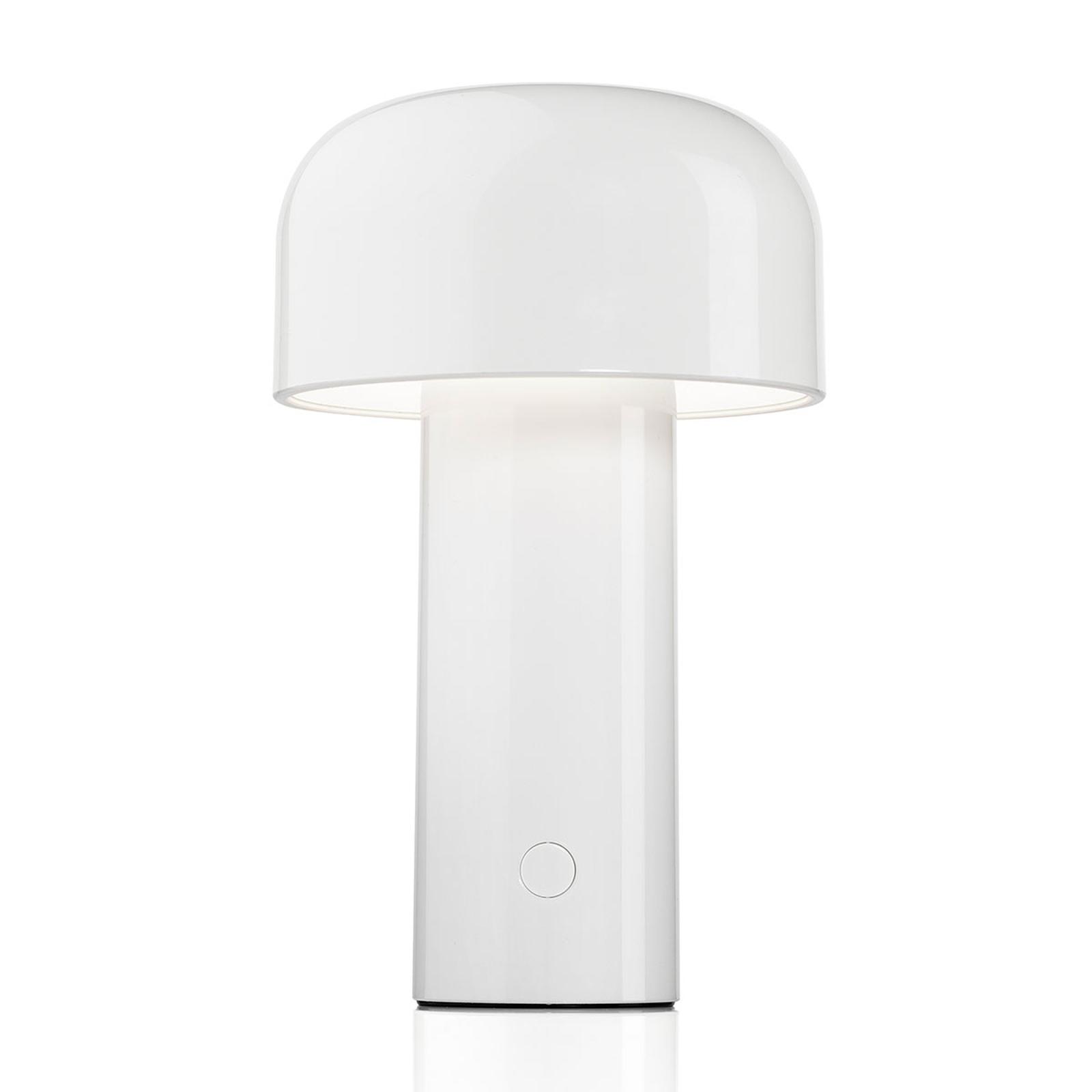 FLOS Bellhop lampada da tavolo LED, bianco