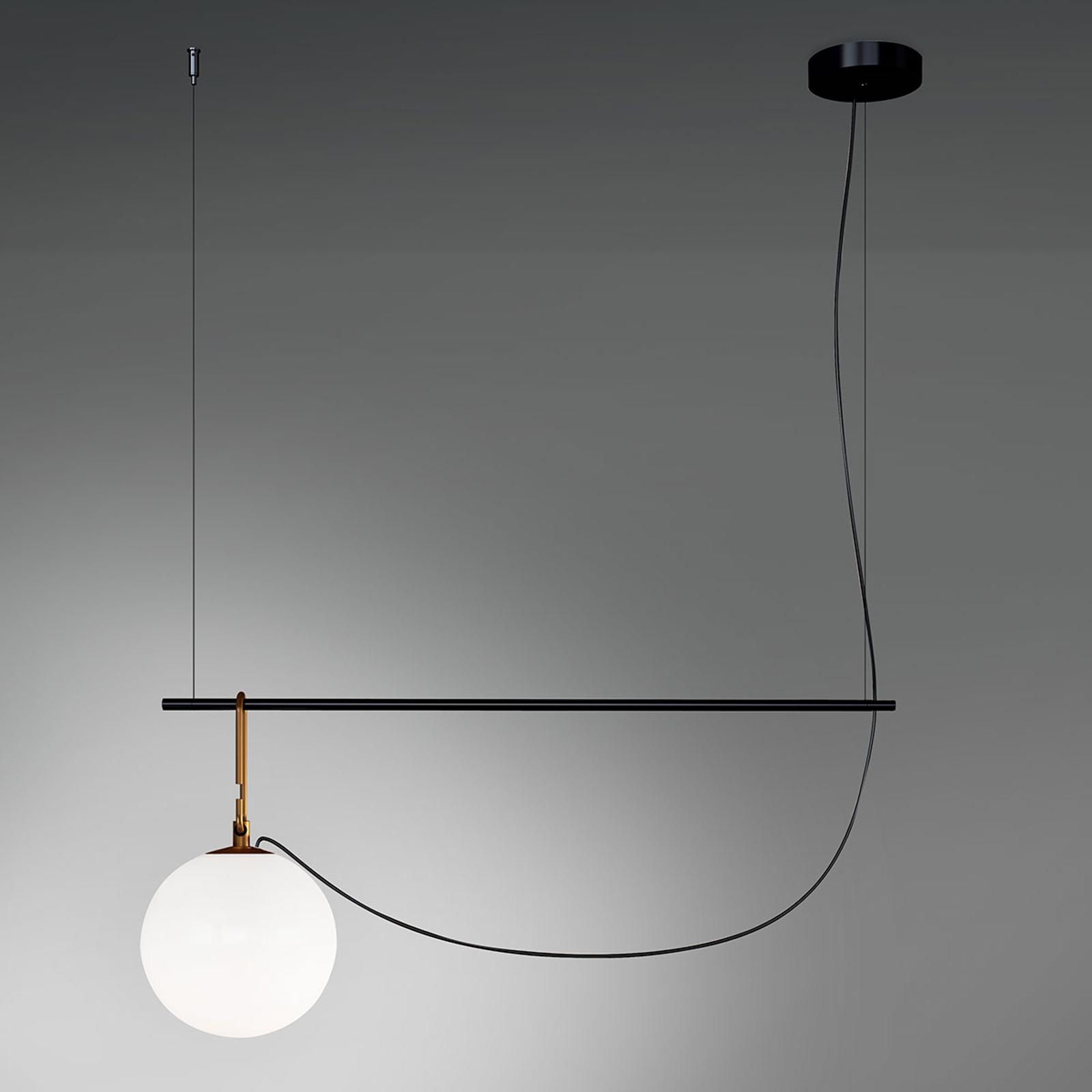 Artemide nh S2 22 lampa wisząca 90,5 cm kula Ø22cm