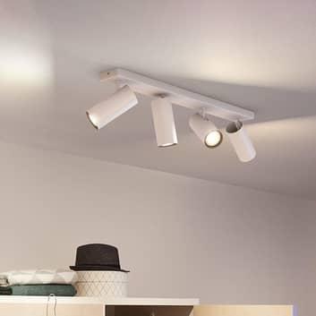 Philips Hue Buratto LED-spot 4 lyskilder hvit