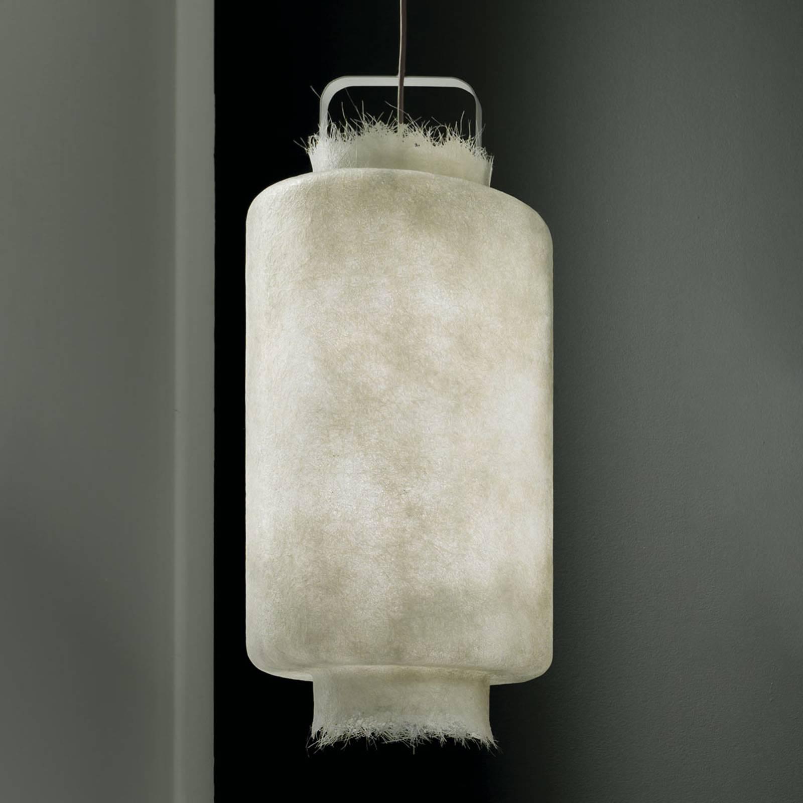Karman Kimono - weiße LED-Hängeleuchte 40 cm
