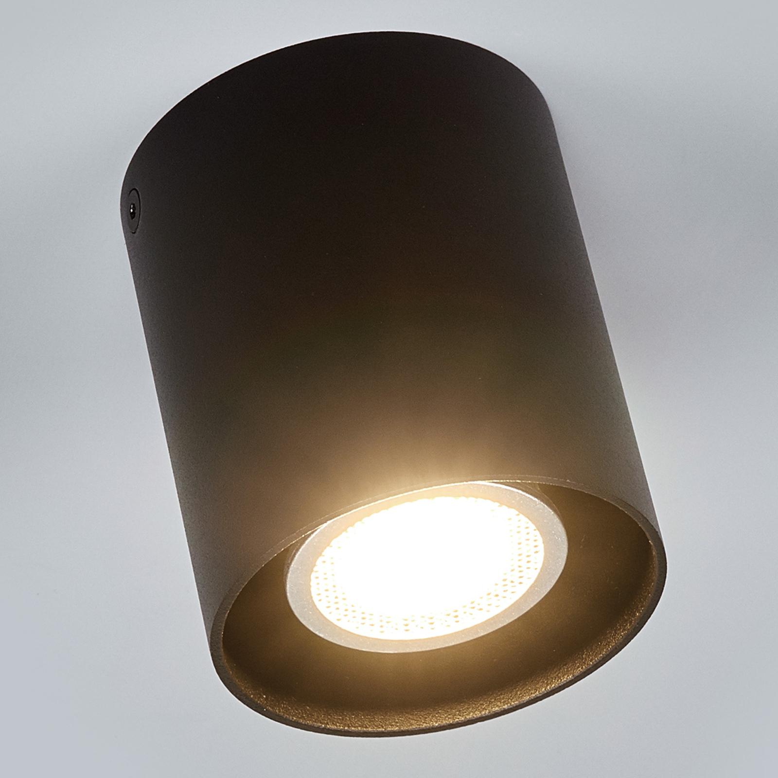 Černé stropní světlo Carson