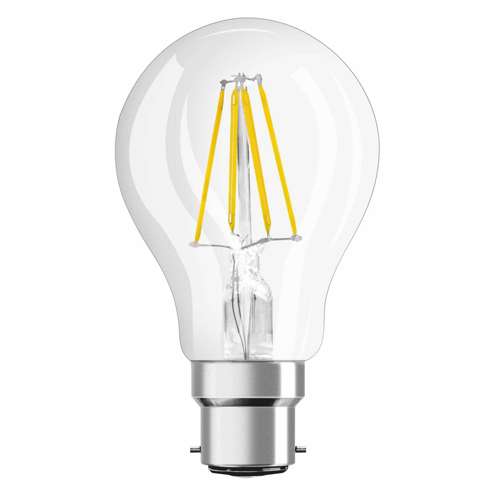 B22 4W 827 Filament LED-Lampe