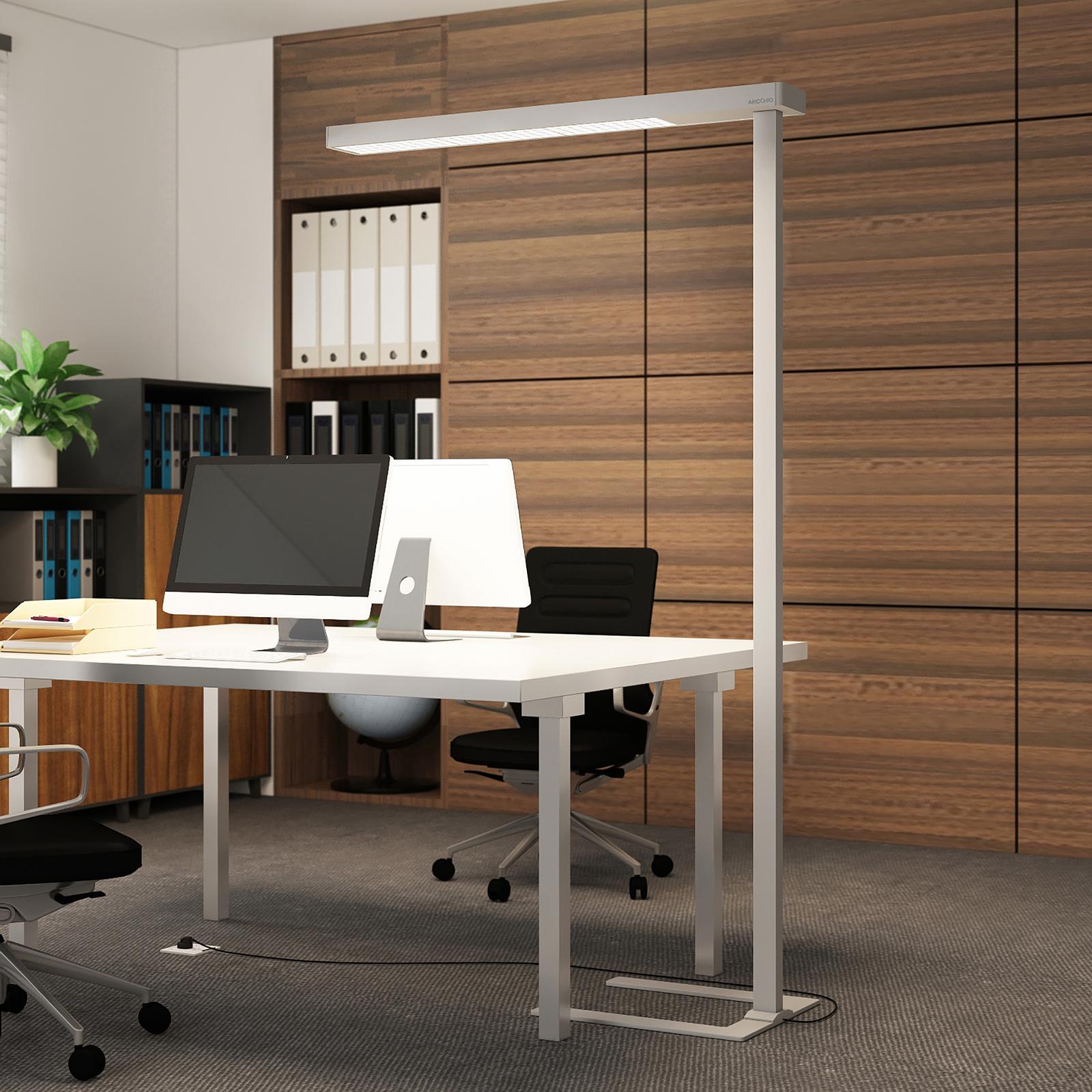 Arcchio Bilano LED-gulvlampe til kontor, dæmper