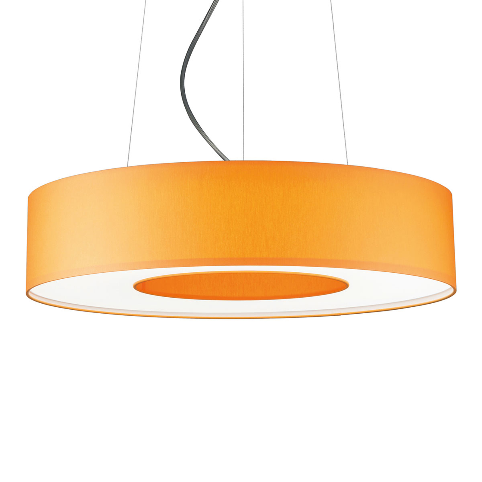 Suspension LED Donut dimmable 22 W orange
