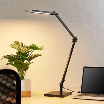 Lindby Antisa lampe de bureau LED CCT variateur