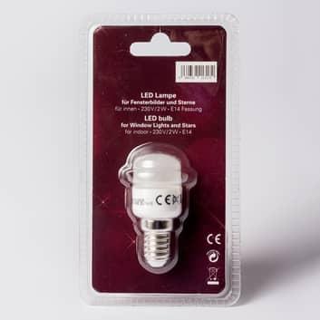 E14 2 W LED-pære