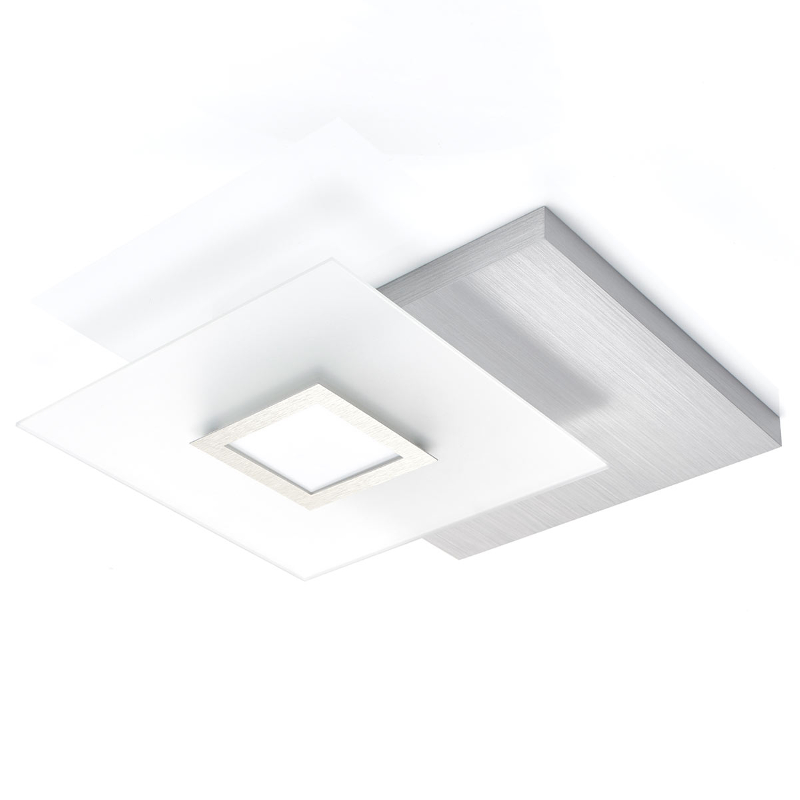 Vistosa plafoniera LED Flat, dimmerabile