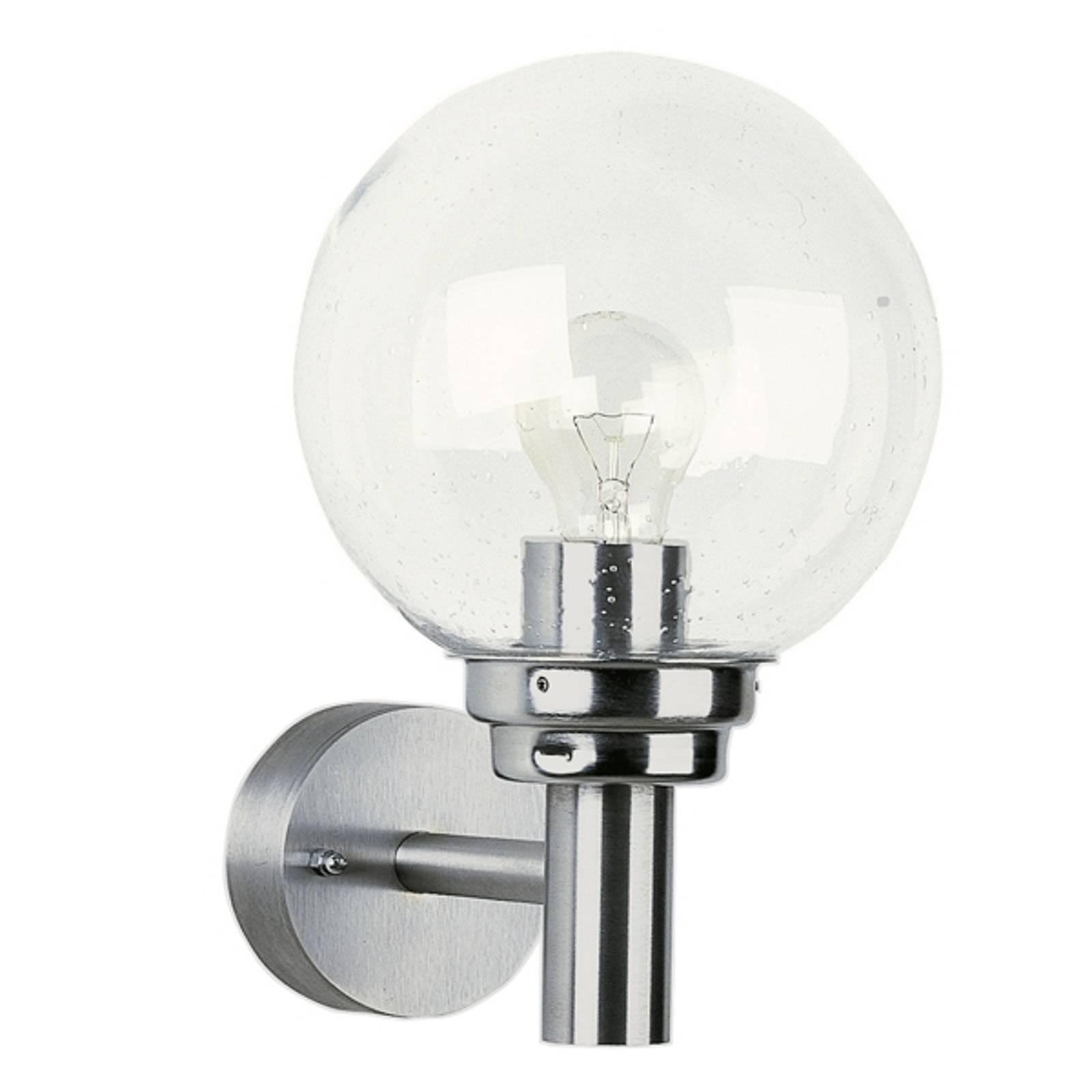 Bolvormige buitenwandlamp 156