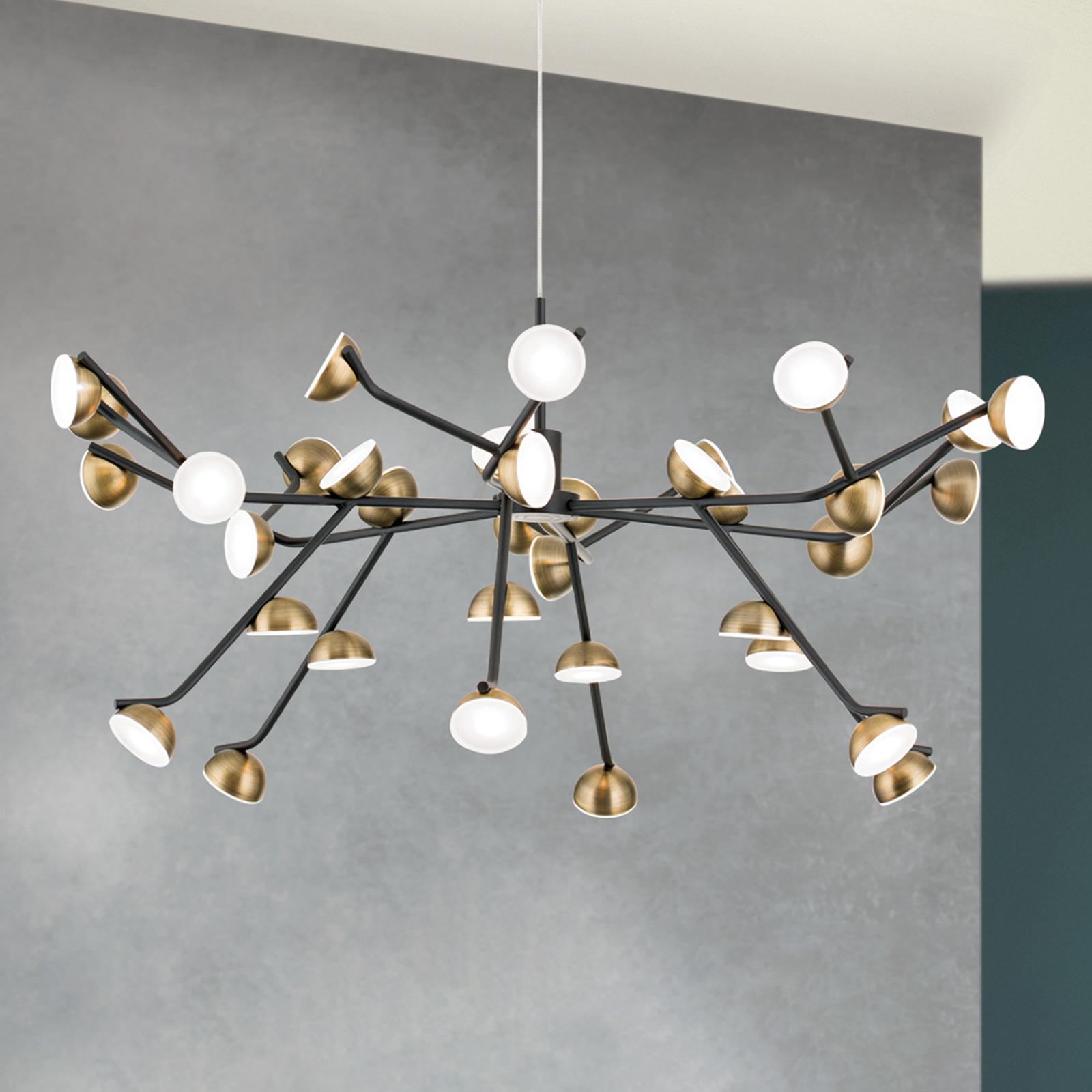 Lampada LED a sospensione Blossom, 36 luci
