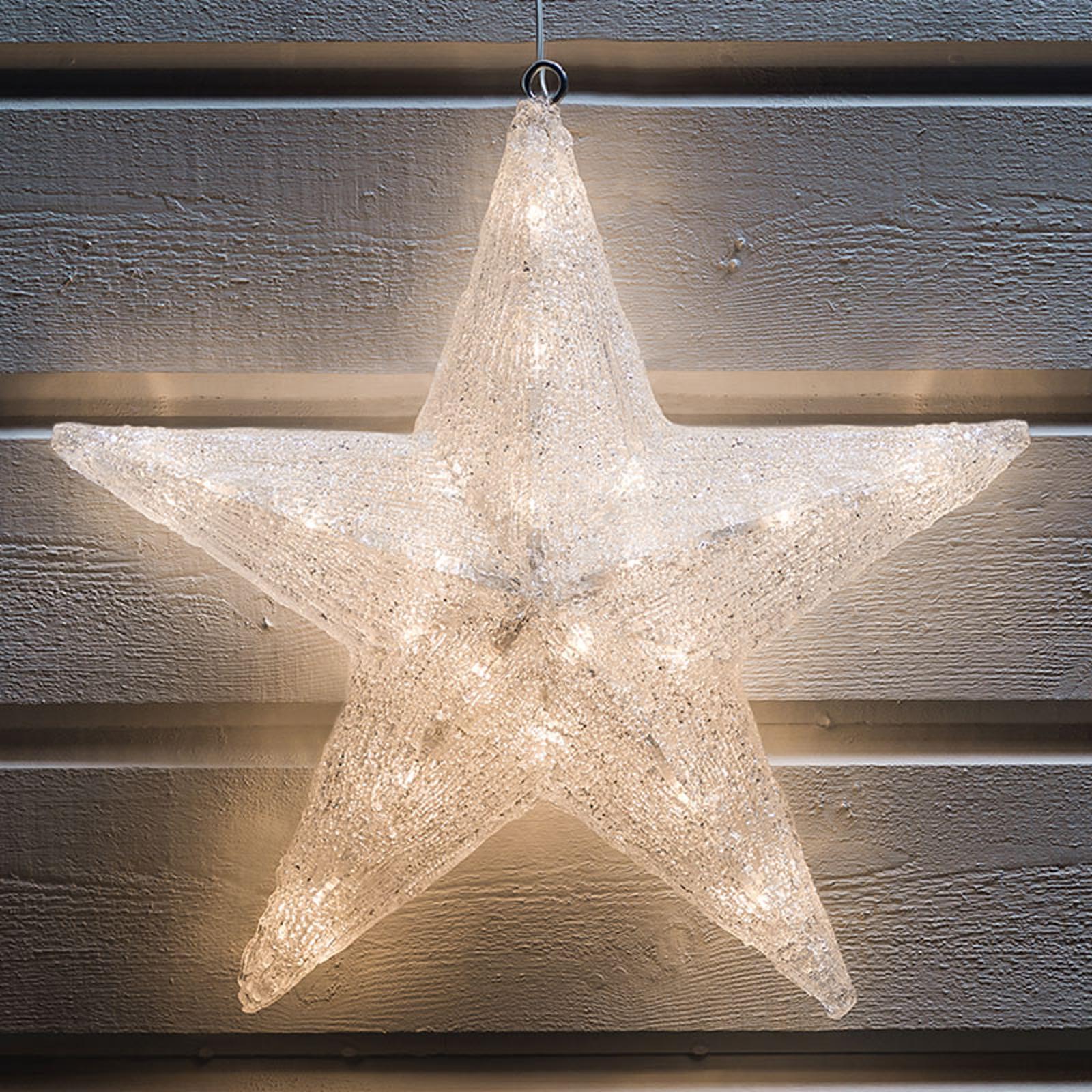 Étoile déco LED pour l'extérieur, Ø 40cm