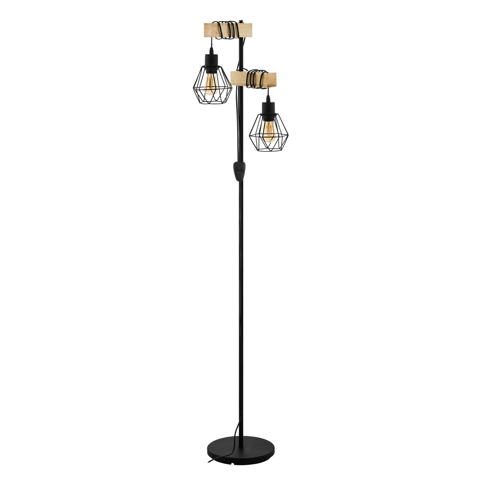 Townshend 5 stropní světlo s 2 klecovými stínidly