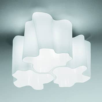 Artemide Logico Deckenlampe 3fl. 120° 33x33 cm