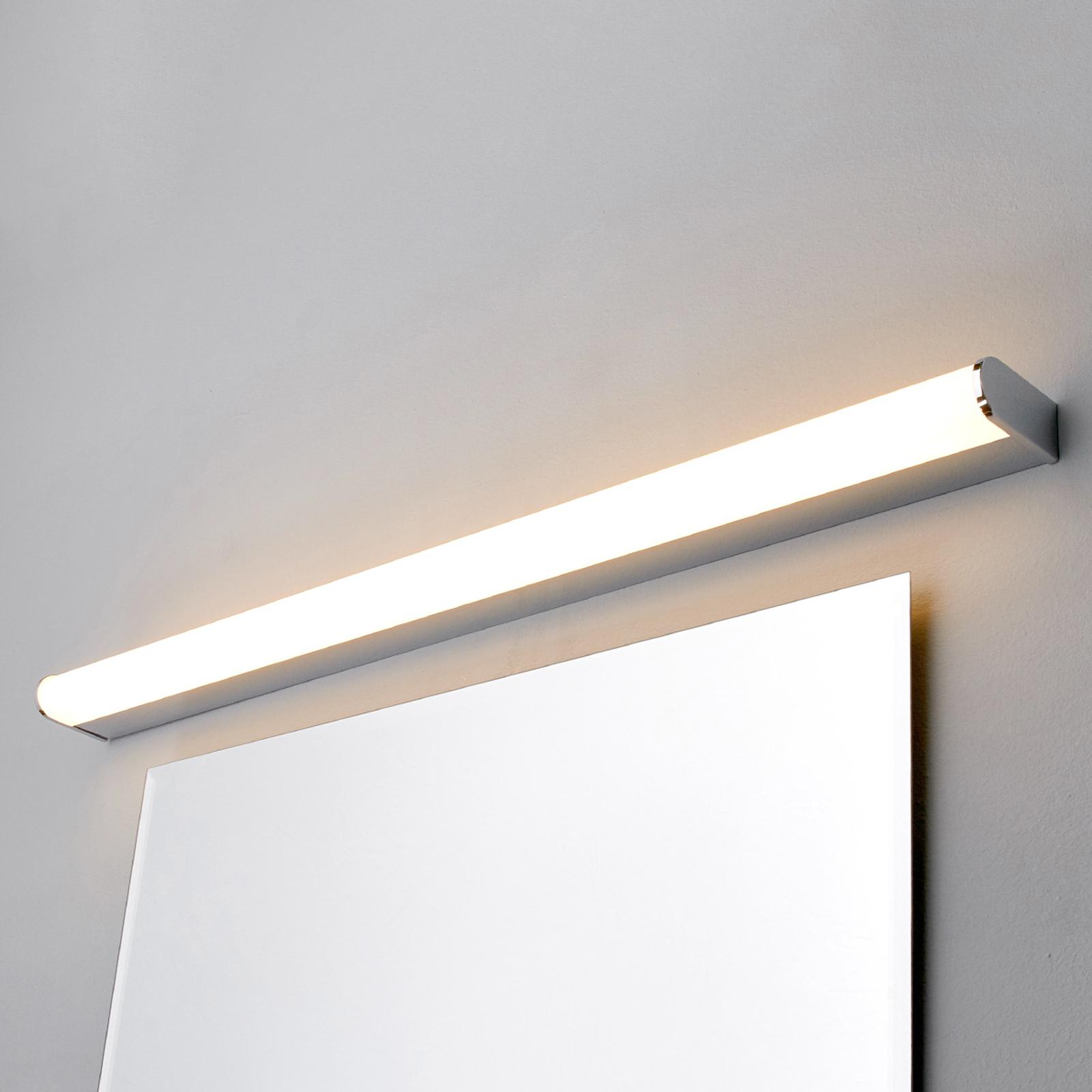 LED-Bad- und Spiegelleuchte Philippa halbrund 88cm