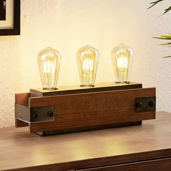 Lindby Nilaska tafellamp, 3-lamps