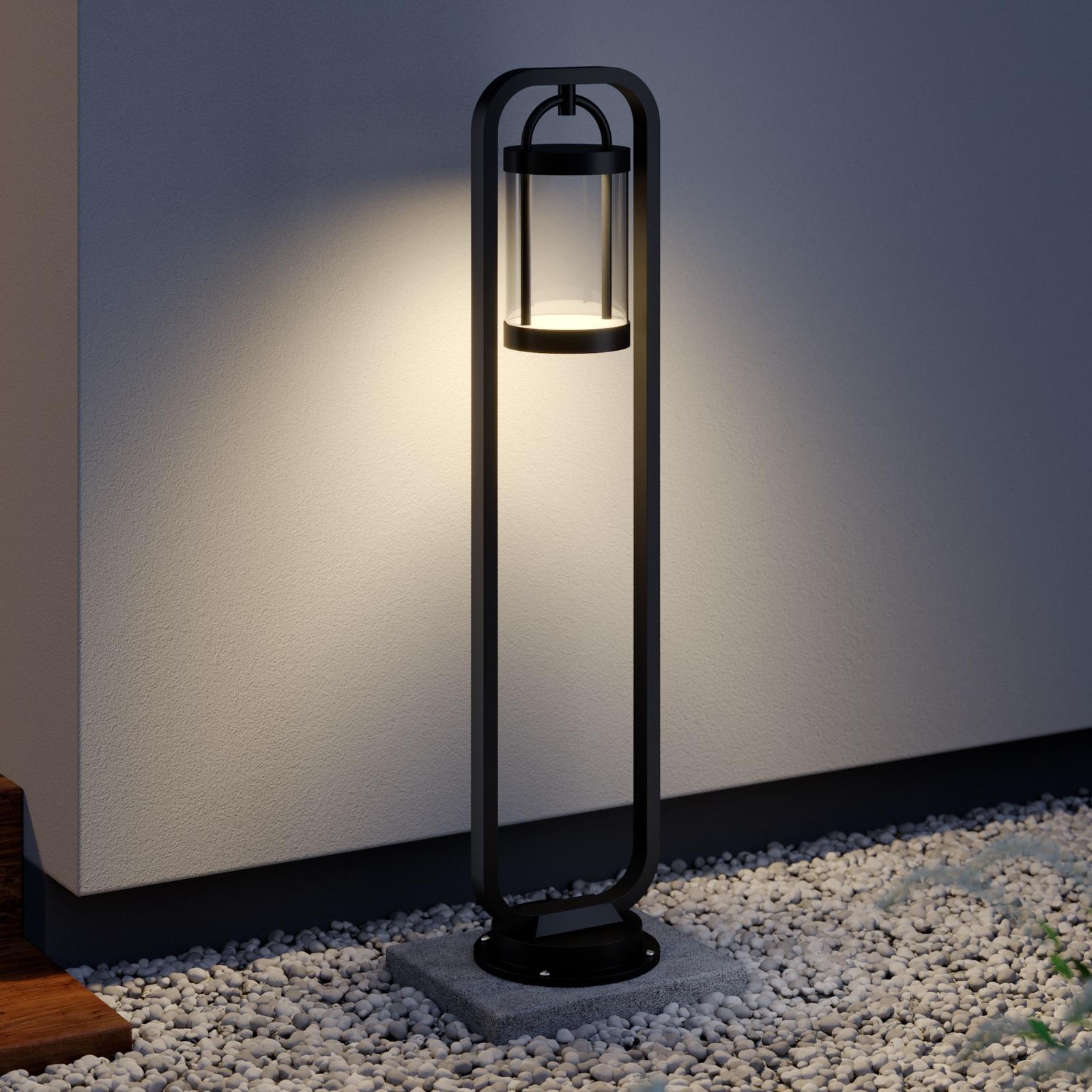 Lucande Caius lampione a LED
