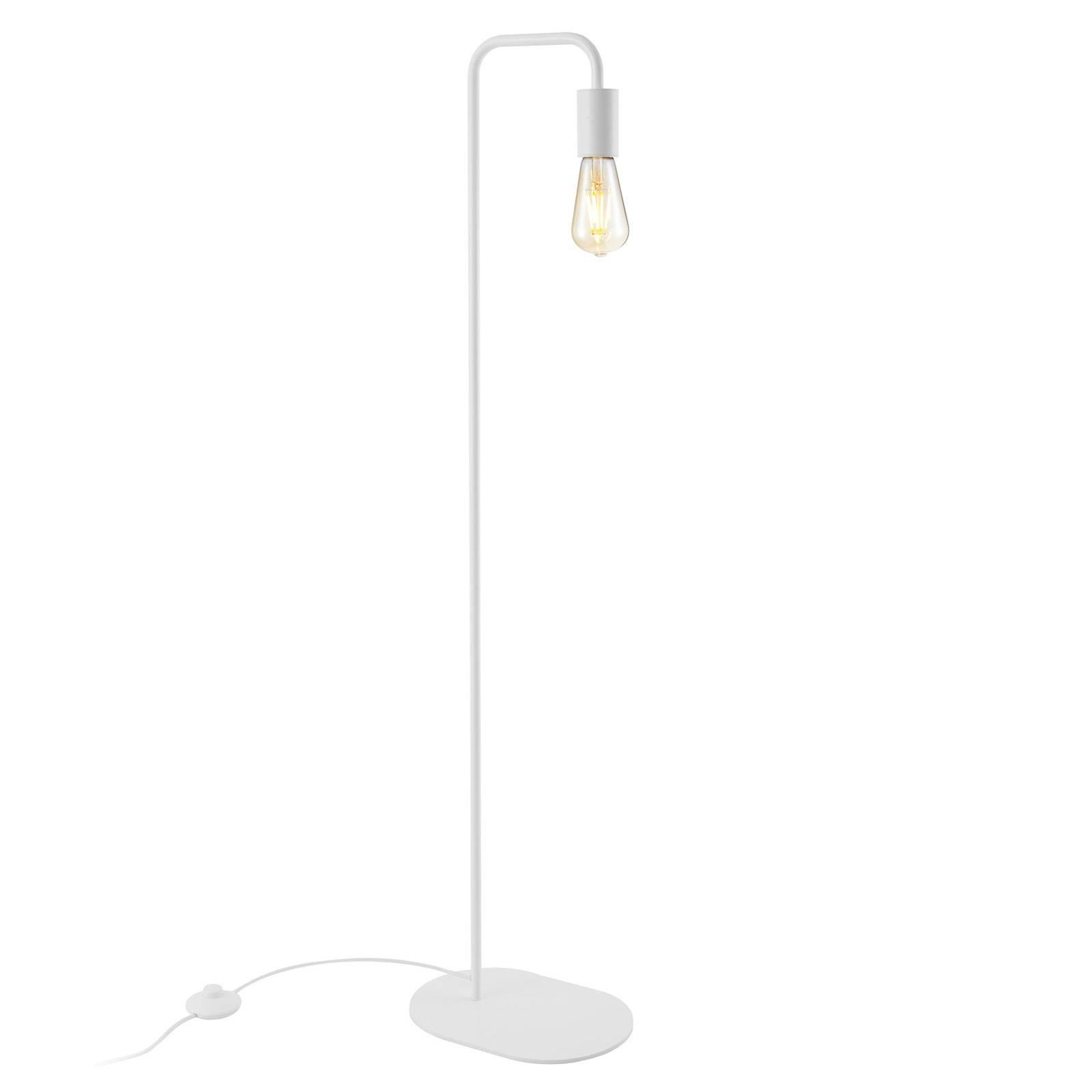 SLV Fitu lampadaire en métal, blanc