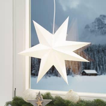 Estrella de papel Duva para colgar, 45 cm