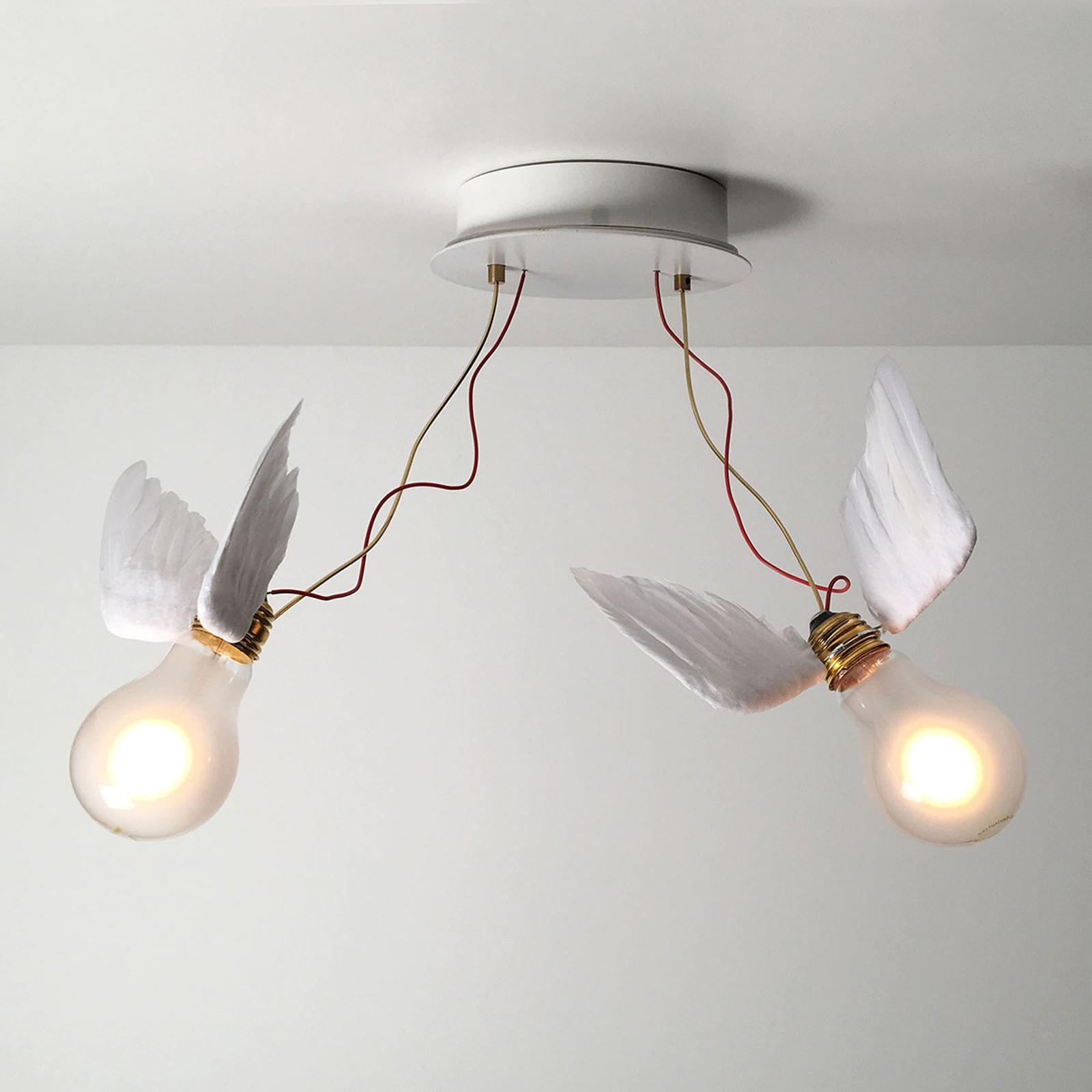 Produktové foto Ingo Maurer Ingo Maurer Lucellino Doppio nástěnné LED svítidlo