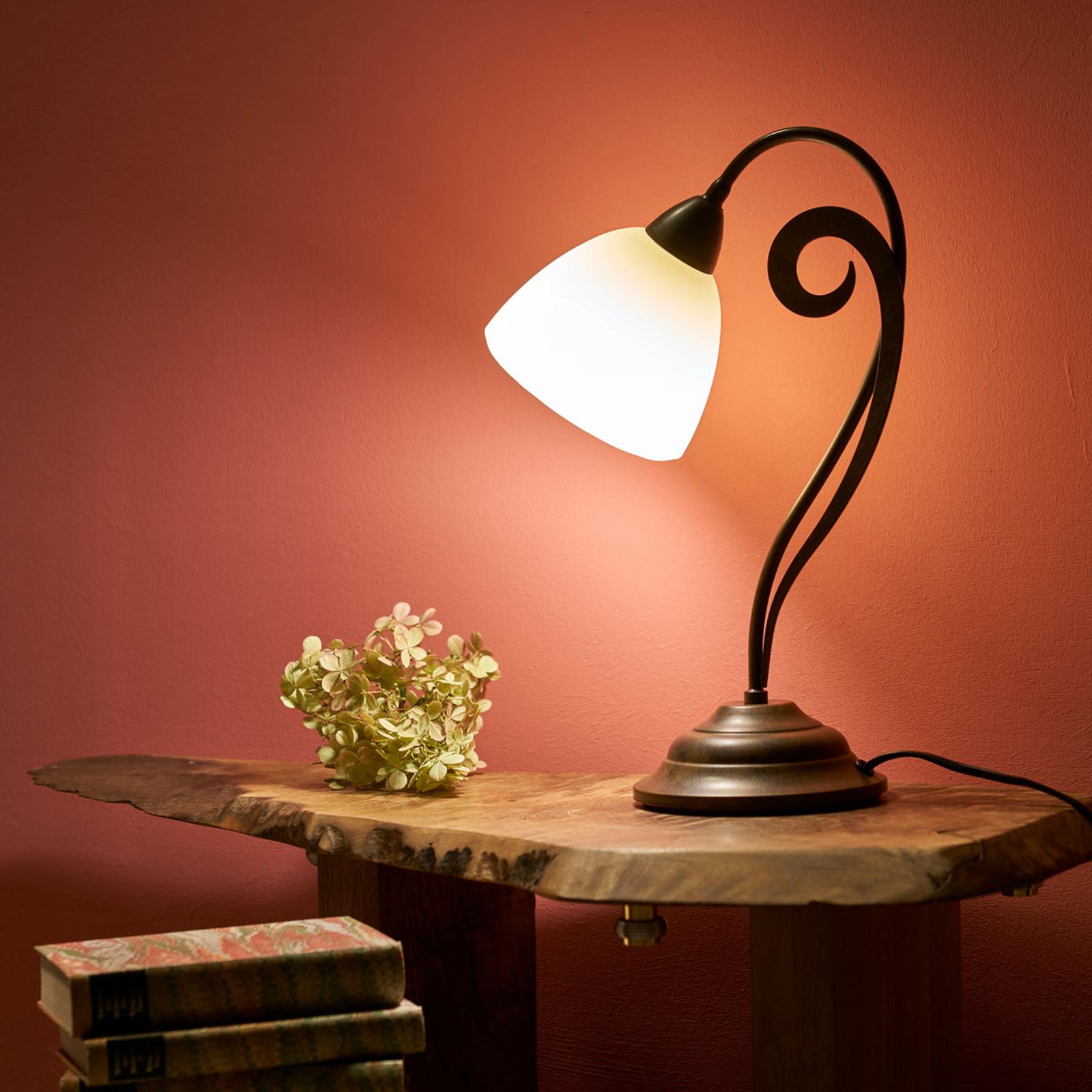 Lampe à poser rustique Luca