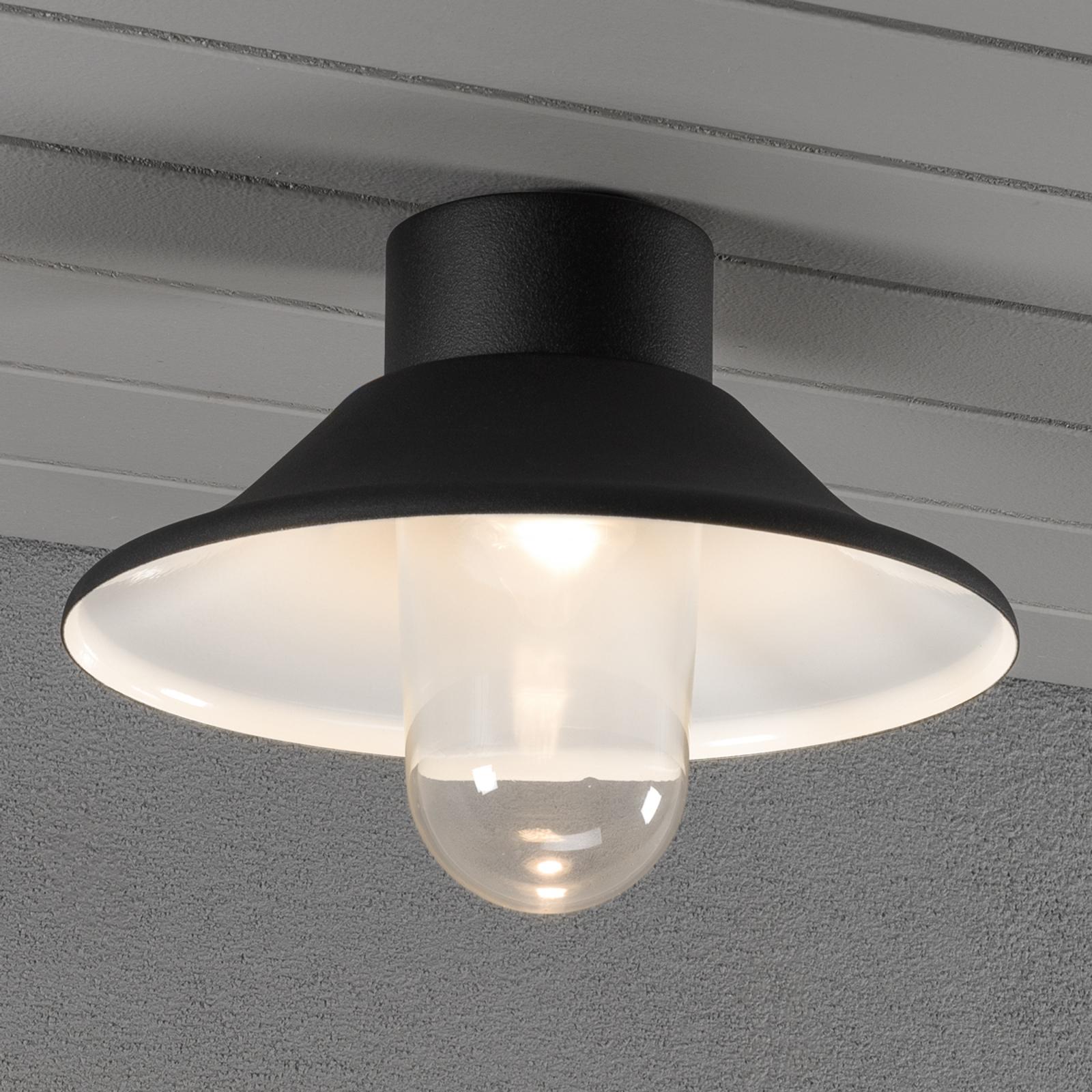 Vega - zewnętrzna lampa sufitowa LED
