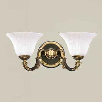 Chique 2-lichts wandlamp ALCANTARA