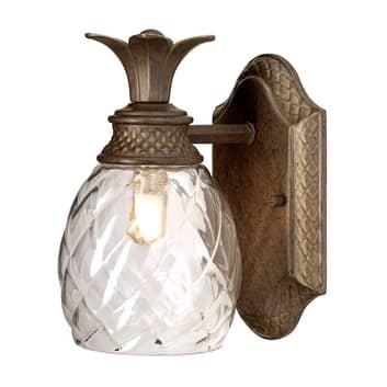 LED wandlamp Plantation, neerwaards stralend