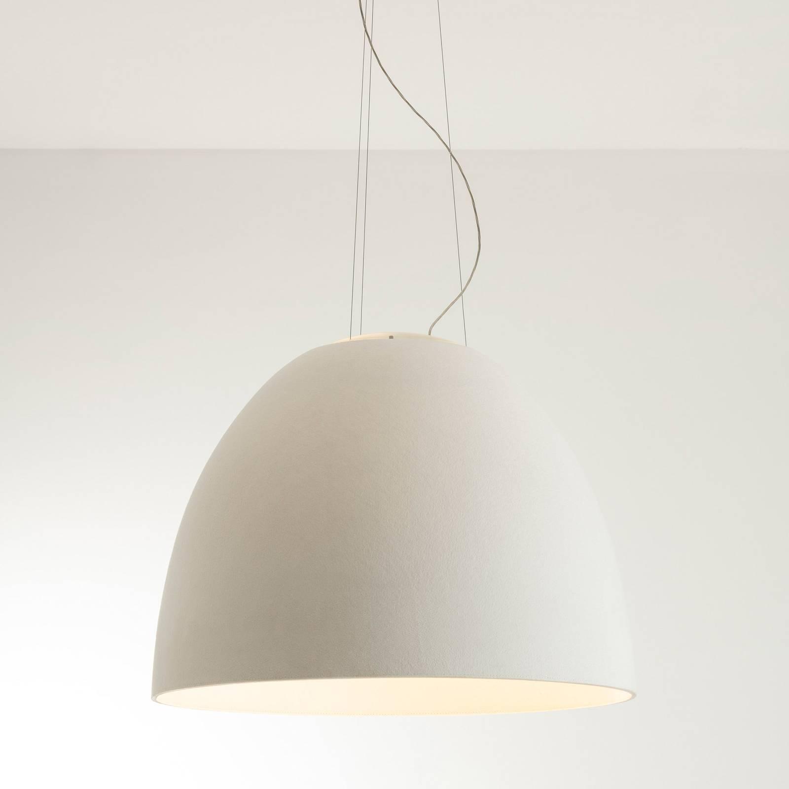 Artemide Nur Acoustic LED-Hängeleuchte, weiß