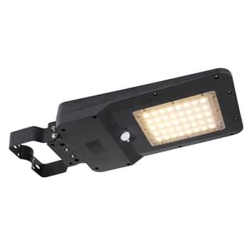 LED-vägglampa solcell 36486 med energisparläge