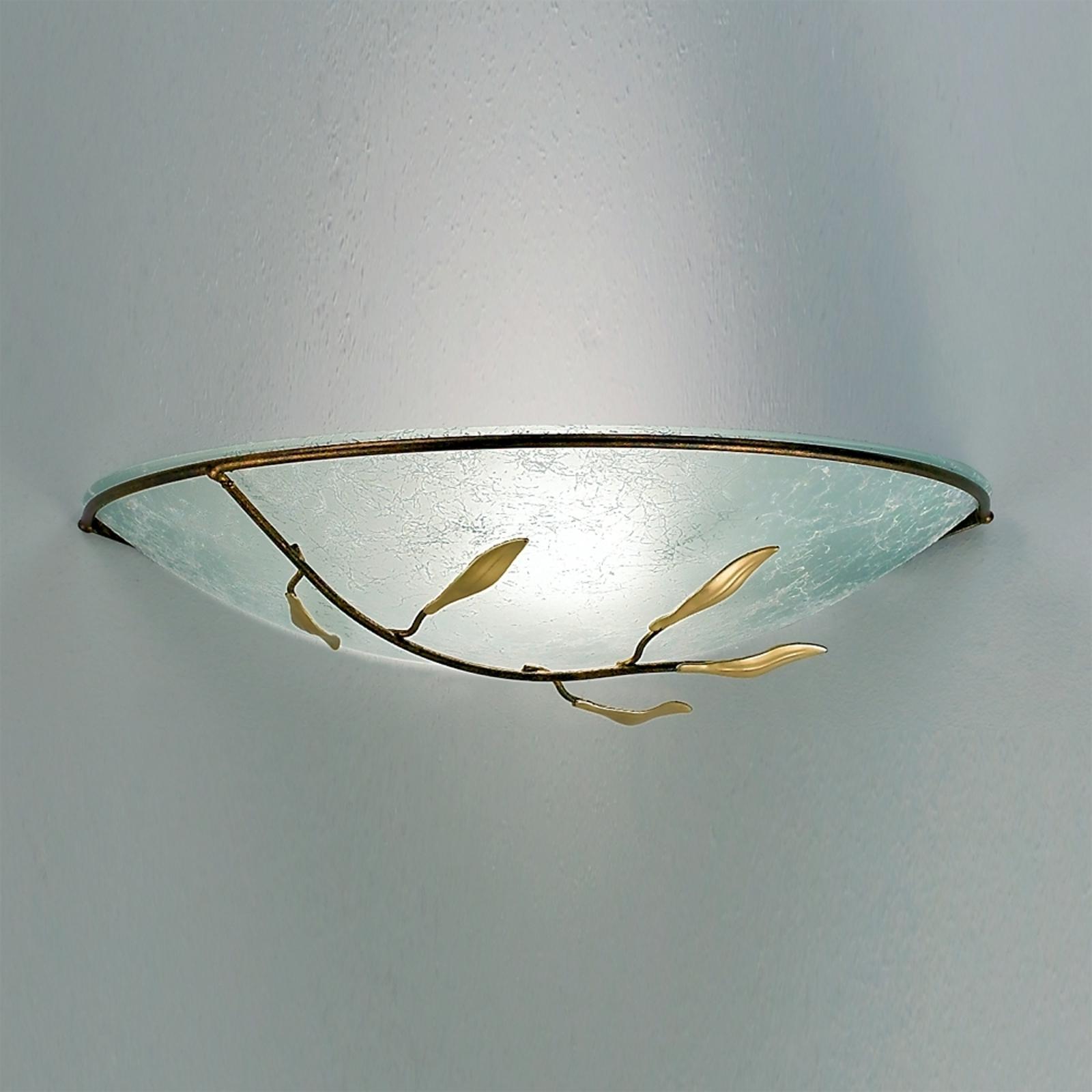 Wandleuchte REGINE mit Scavoglas