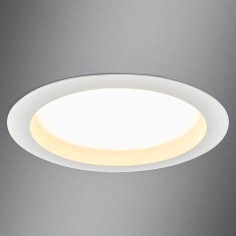 Stor LED-inbyggnadsspotlight Arian, 24.4 cm 22.5W