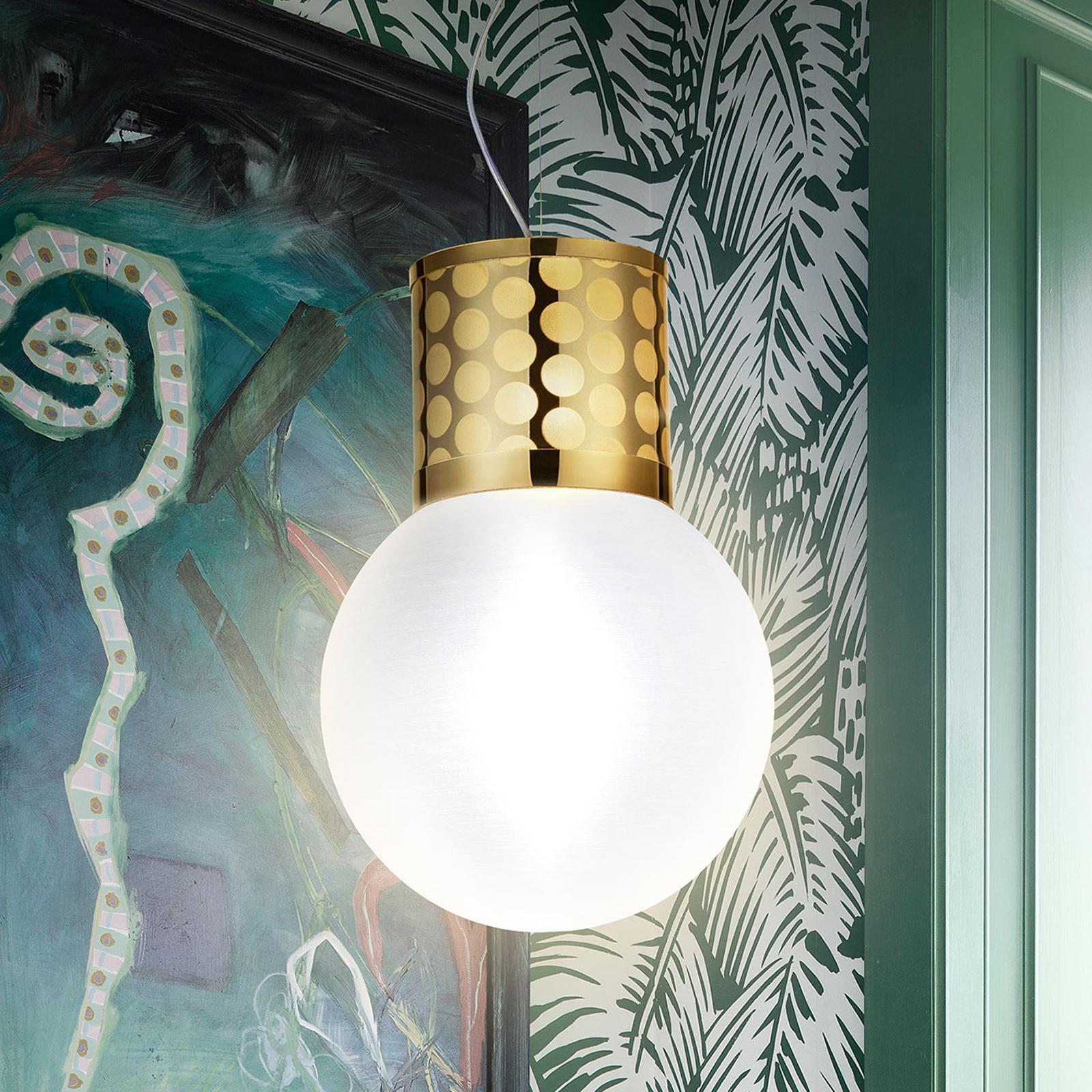 Slamp Atmosfera lampa wisząca, Ø 30 cm, złota