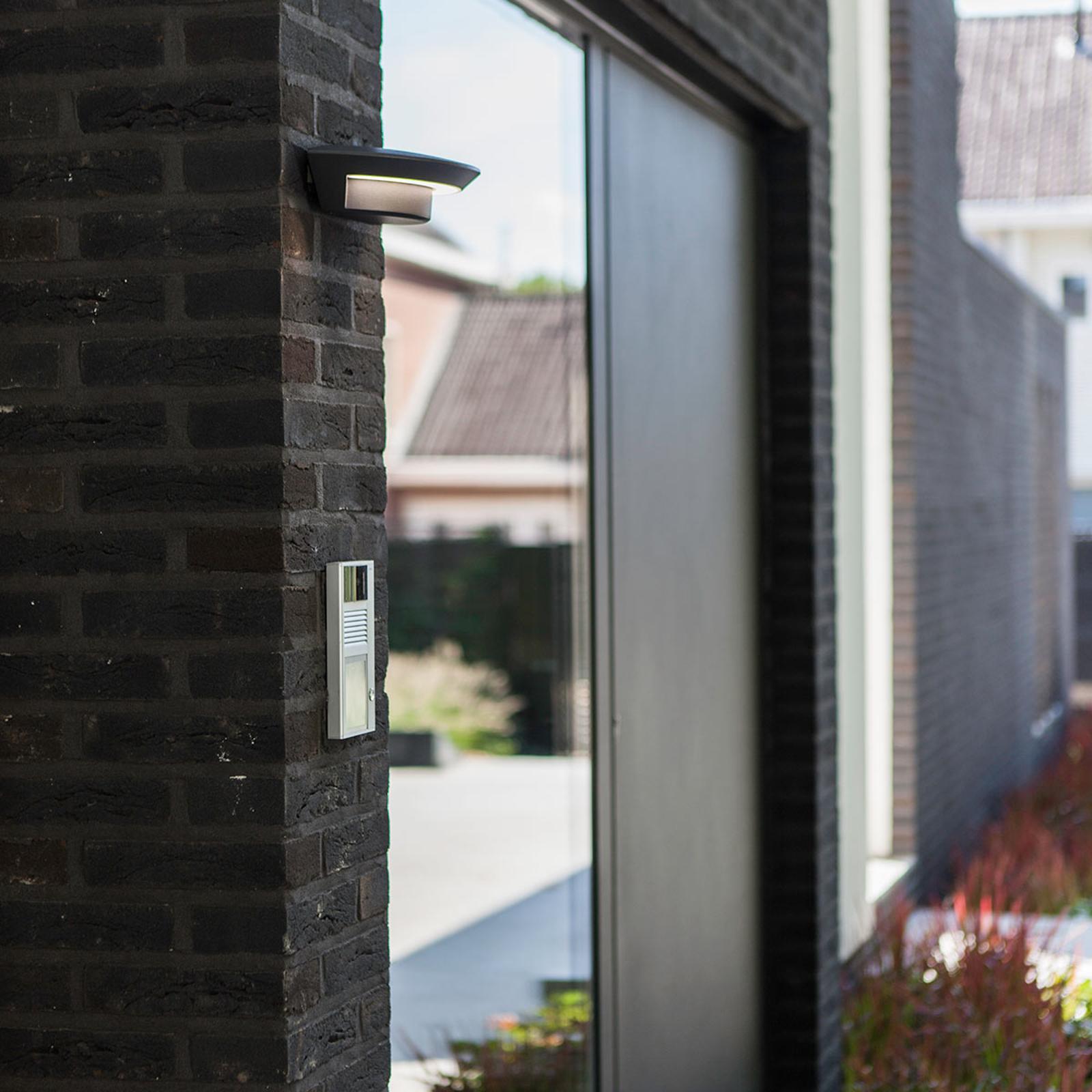 Moderne udendørs LED væglampe Adina m. 4 lyskilder