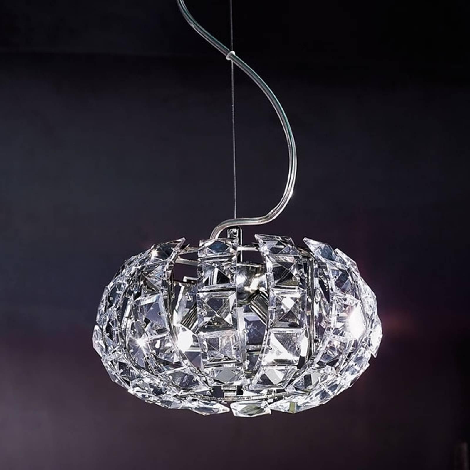 Kryształowa lampa wisząca Andromeda S24