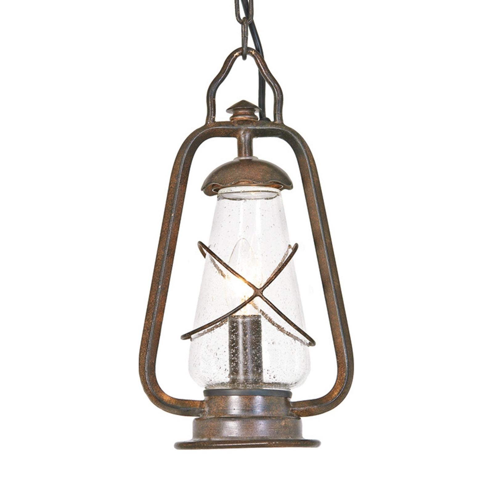Závěsné světlo MINERS ve stylu důlní lampy
