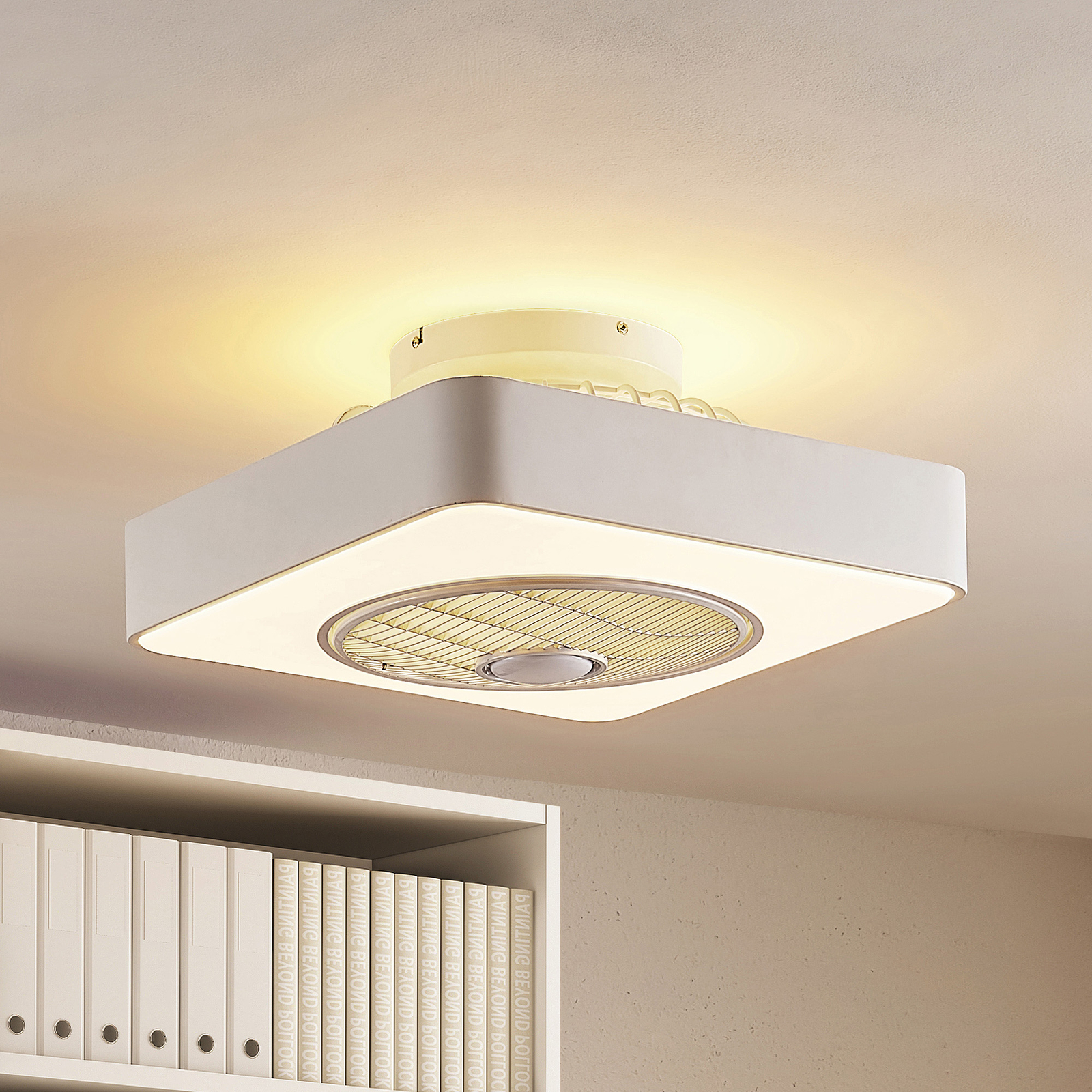 Lindby Danischa ventilatore da soffitto LED