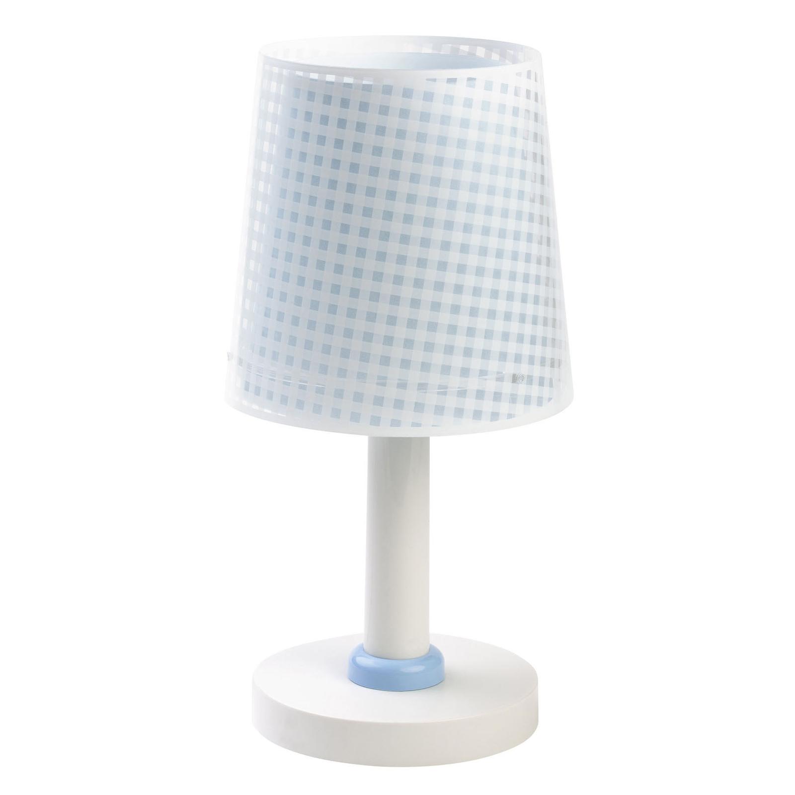 Lampa stołowa dziecięca Vichy niebieska