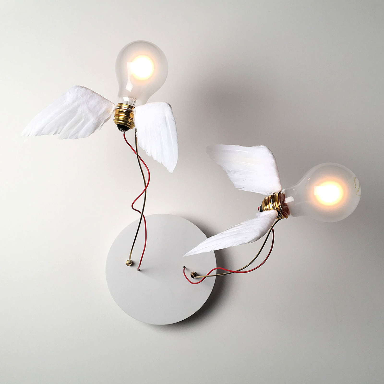 Ingo Maurer Lucellino Doppio LED wandlamp