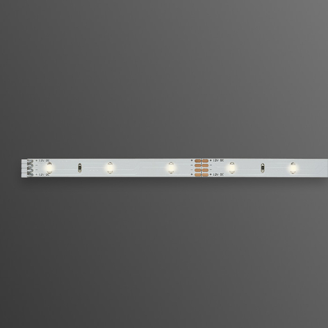 Varmhvit LED-Stripe YourLED, 1m, hvit