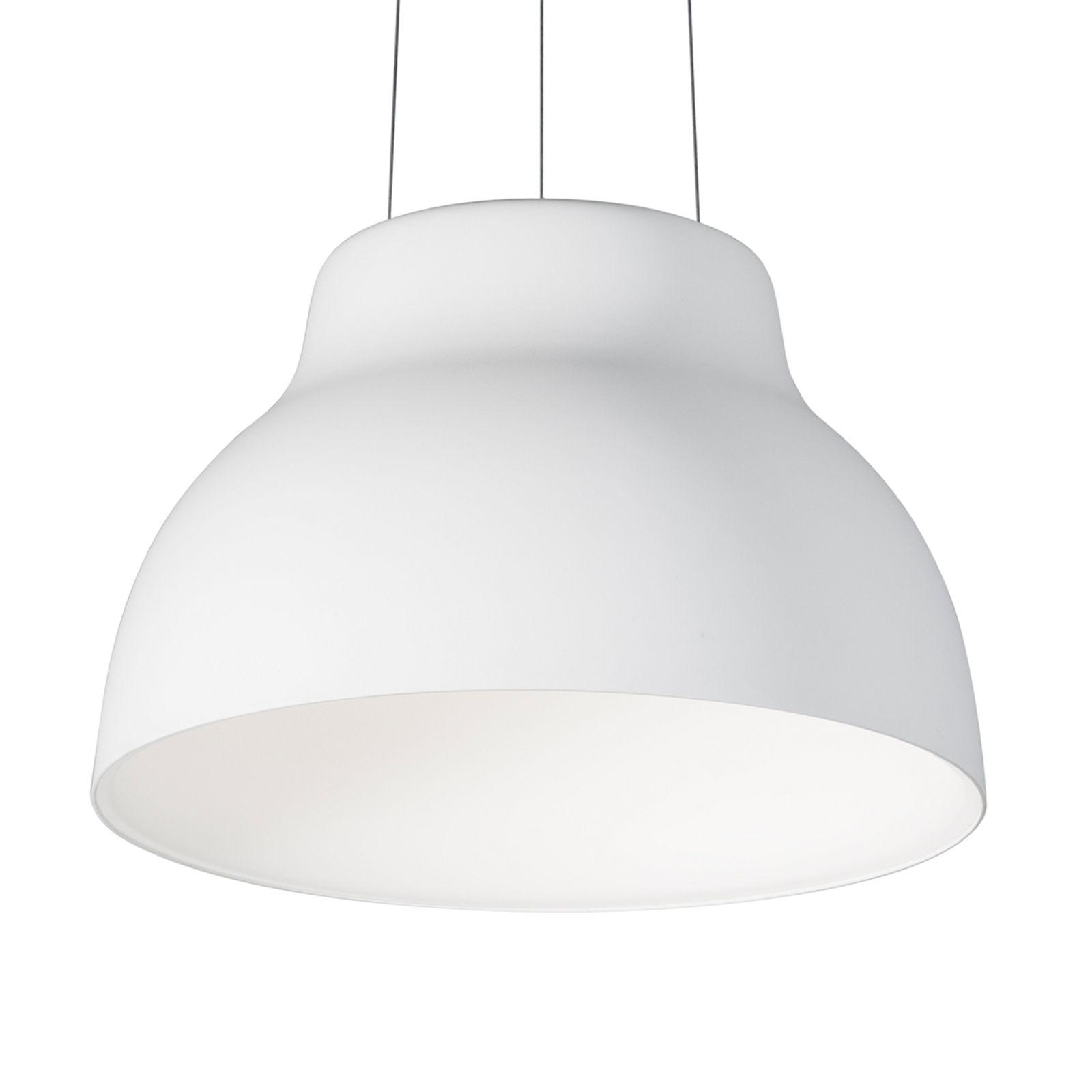 Martinelli Luce Cicala - suspension LED, blanche