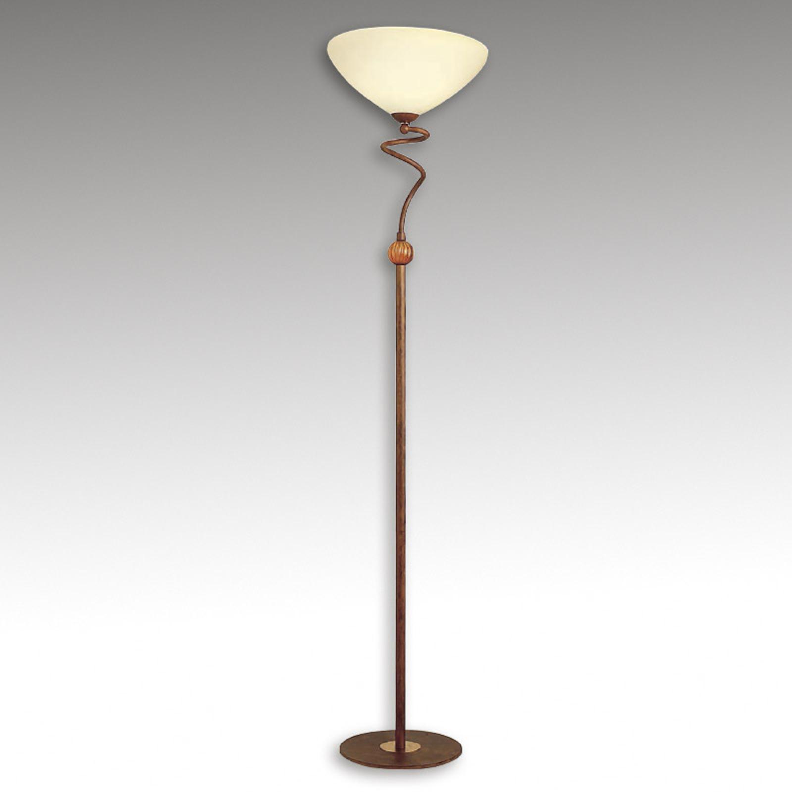 Urzekająca lampa stojąca Margalit