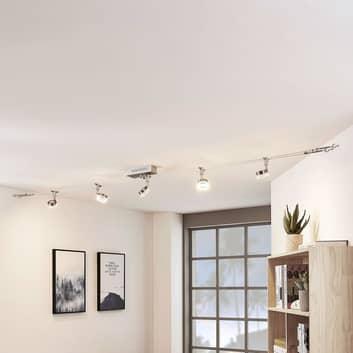 Sistema LED a funi Valeska, 5 punti luce