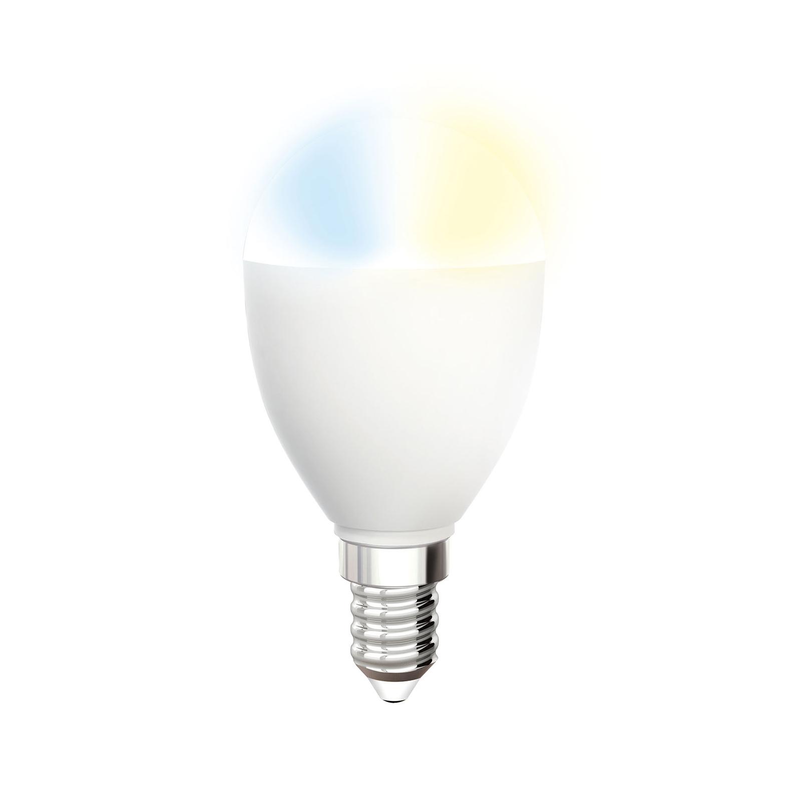 iDual Whites LED-pære E14 5,5W C-type 400lm